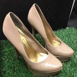 Jessica Simpson platform Heel